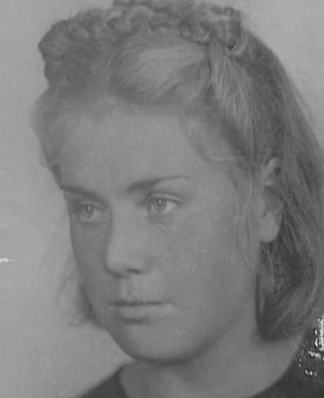 Вера Волошина. 1941 год.