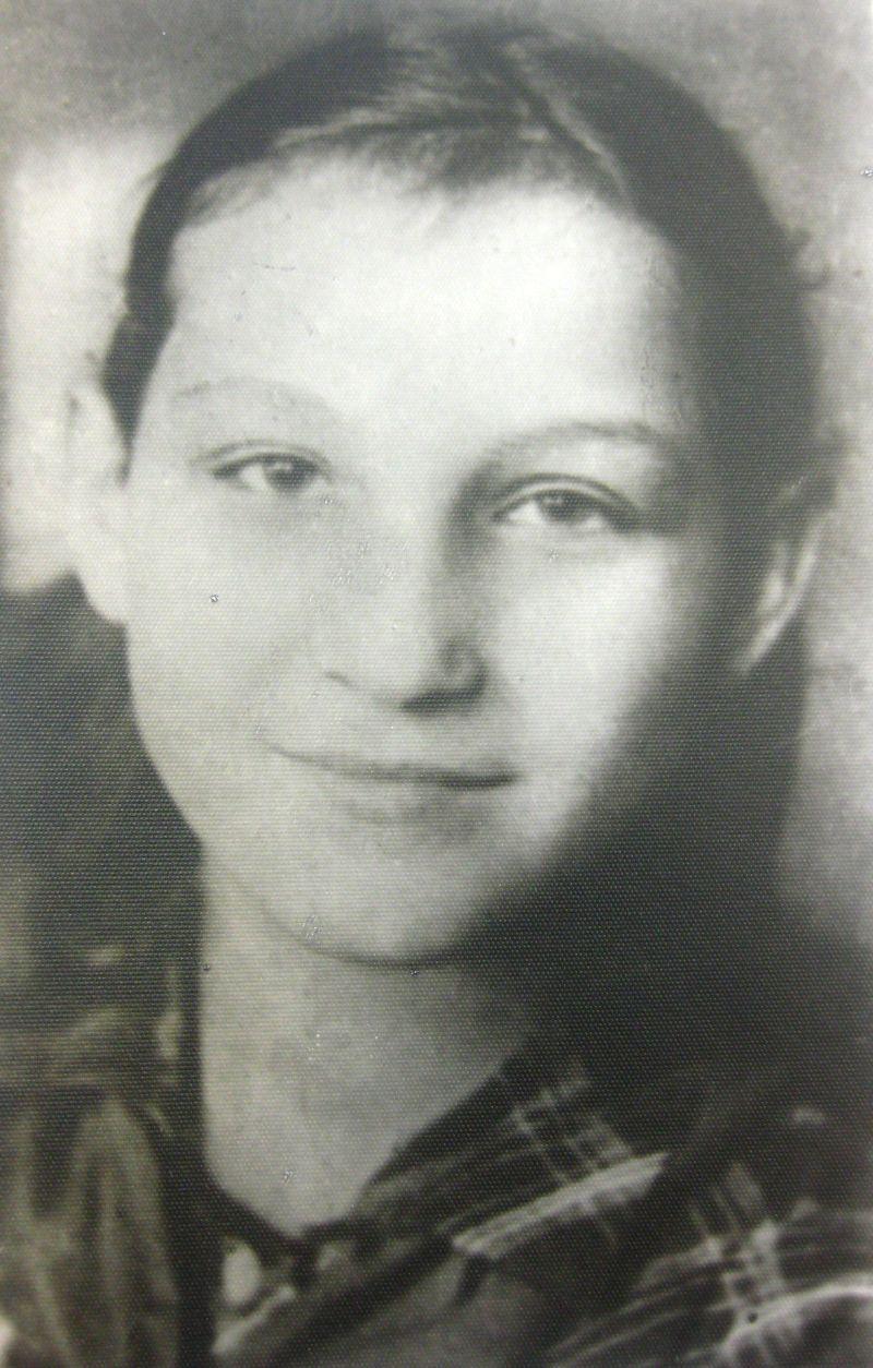 Зоя Космодемьянская в 1937 году.