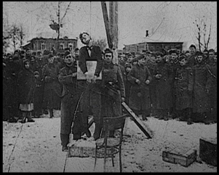 29 ноября 1941 года. Петрищево. Казнь Зои Космодемьянской.