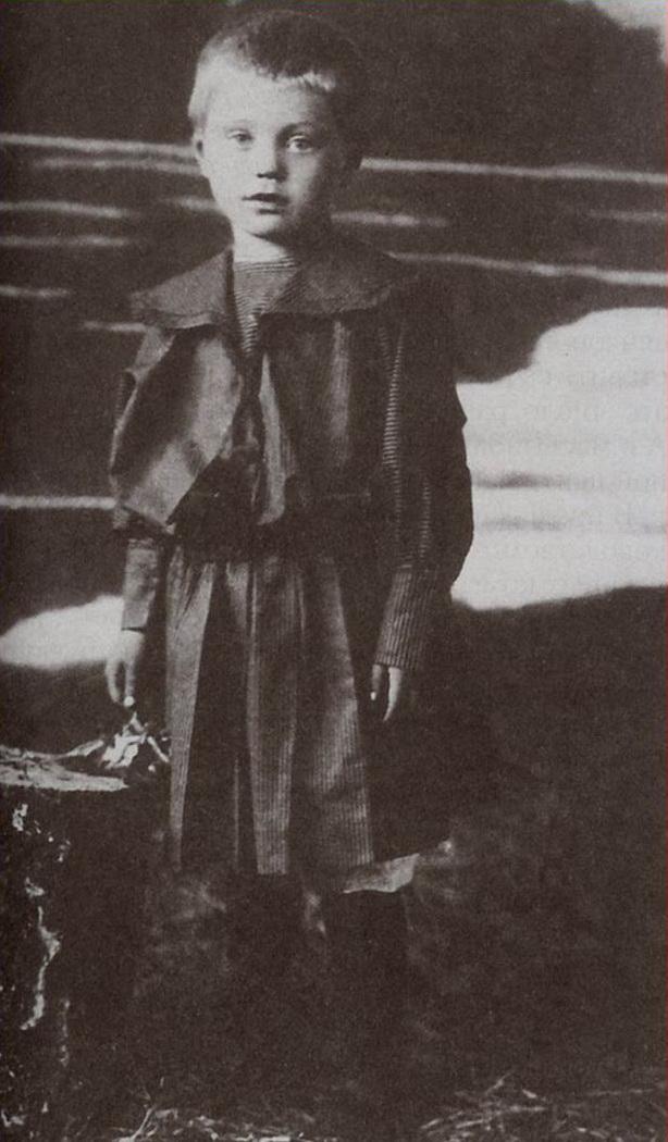 Вере пять лет. 1924 год.