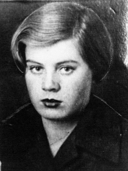 Вера Волошина. 1939 год.