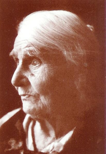 Мама Веры Волошиной - Клавдия Лукьяновна, начало 1970-х годов