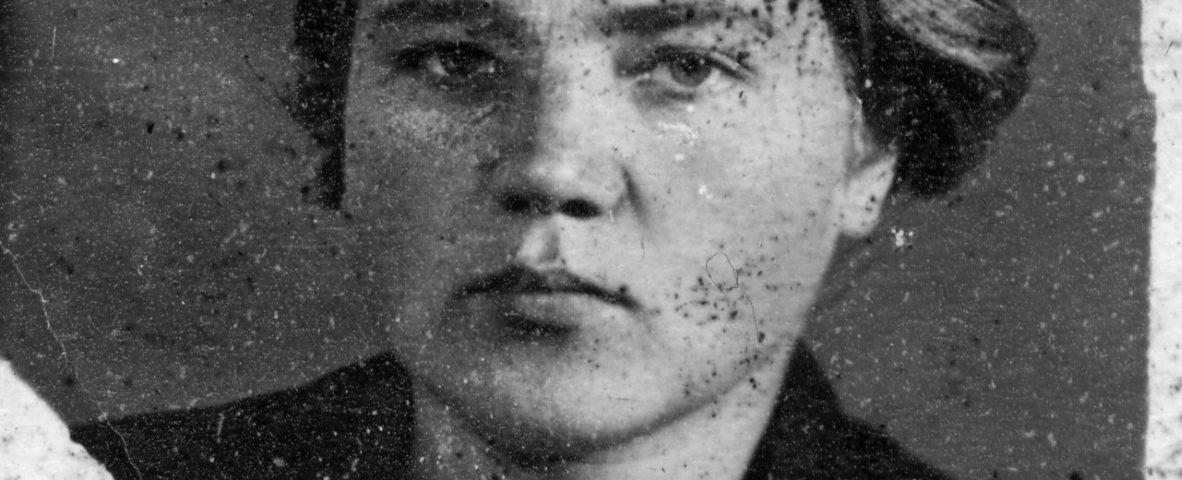Елизавета Беневская. 1939 год.