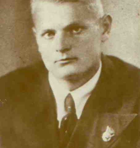 Борис Крайнов незадолго до войны.