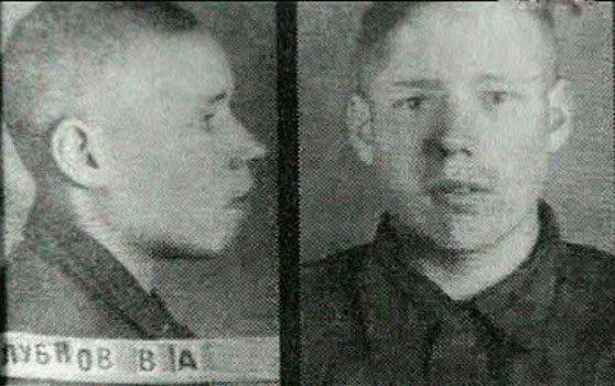 Фото Василия Клубкова из его личного дела в НКВД. 1942 год