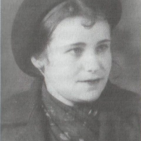 Клавдия Александровна Милорадова. Довоенное фото
