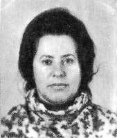 Рада Либерман. Детская подруга Зои Космодемьянской. Конец 60-х гг.