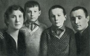 Семья Зои Космодемьянской